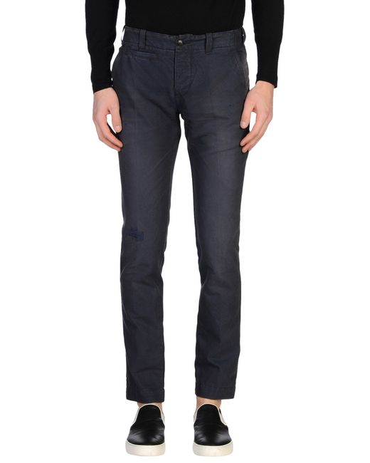 Dondup | Blue Casual Trouser for Men | Lyst