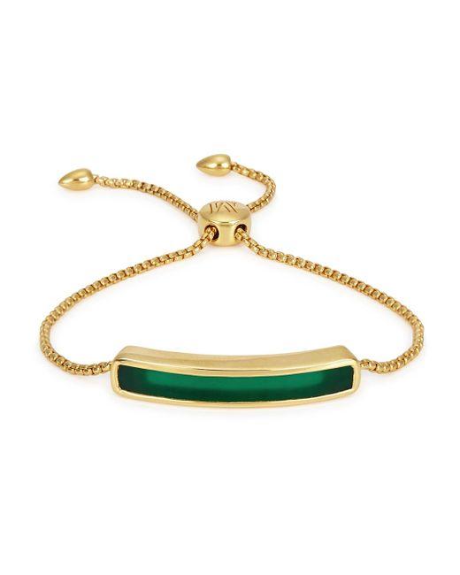 Monica Vinader | Blue Ava 18karat Rose Goldvermeil Bracelet | Lyst