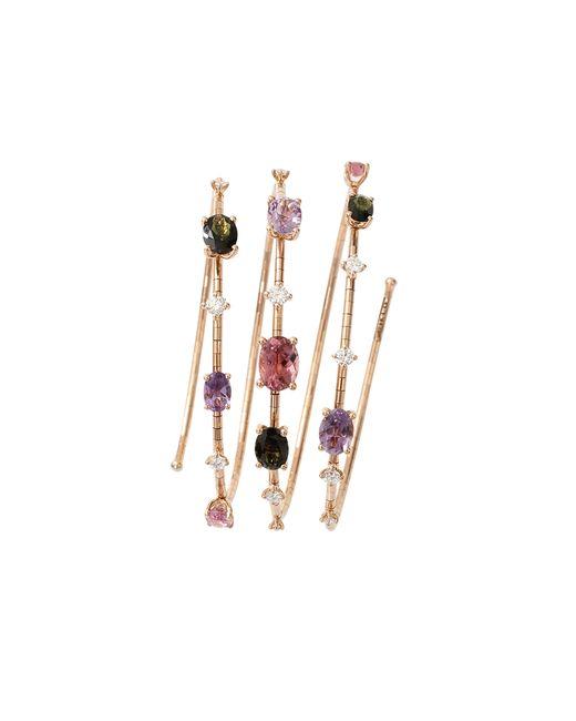 Mattia Cielo | Pink Rugiada Three-circle Wrap Bracelet | Lyst