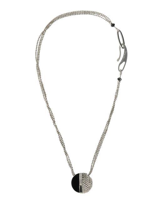 Giorgio Armani   Metallic Necklace   Lyst