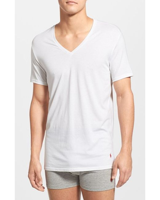 Polo Ralph Lauren | Supreme Comfort 2-pack T-shirt, White for Men | Lyst