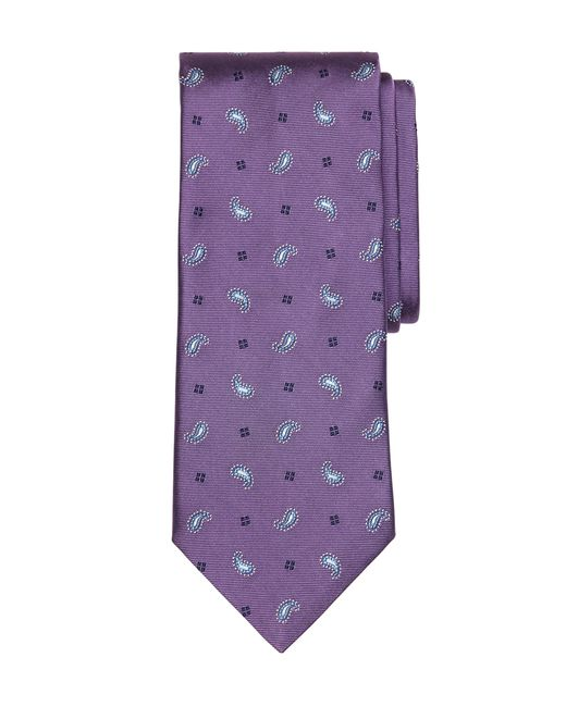 Brooks Brothers | Purple Toss Pine Tie for Men | Lyst