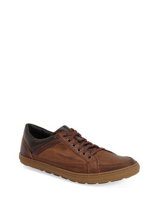 Anatomic & Co | Brown Serra Leather Sneakers for Men | Lyst