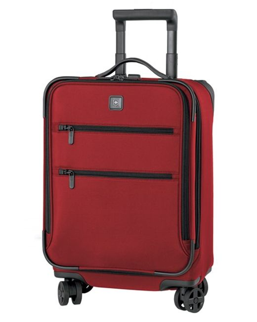 Victorinox | Red Victorinox Swiss Army 'lexicon 20' Dual Caster Wheeled Carry-on for Men | Lyst
