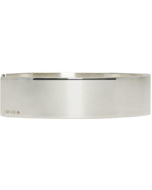 Le Gramme | Metallic Silver Le 33 Grammes Cuff | Lyst