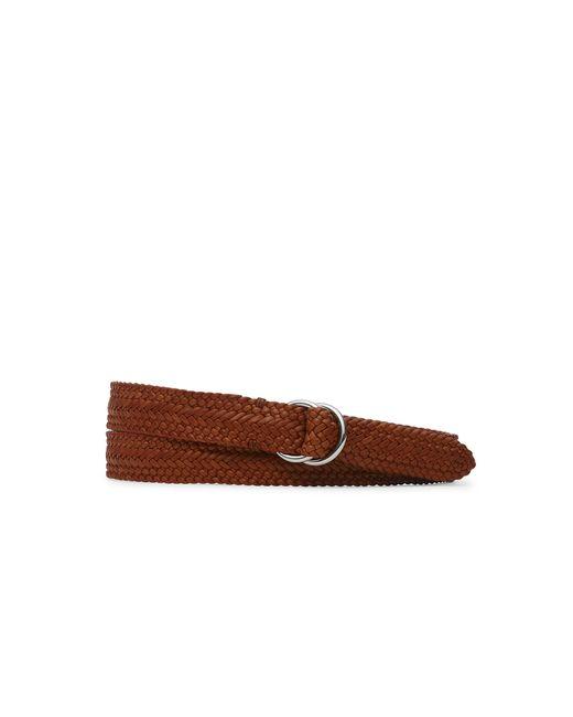 Pink Pony | Red Braided Vachetta O-ring Belt for Men | Lyst