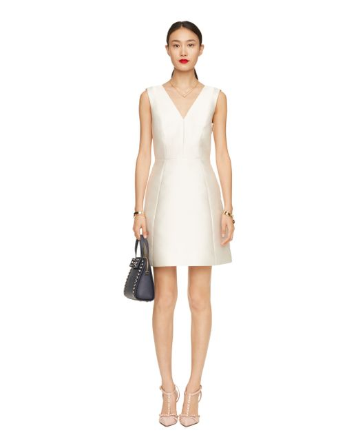 Kate Spade | Natural Open Back Bow Dress | Lyst