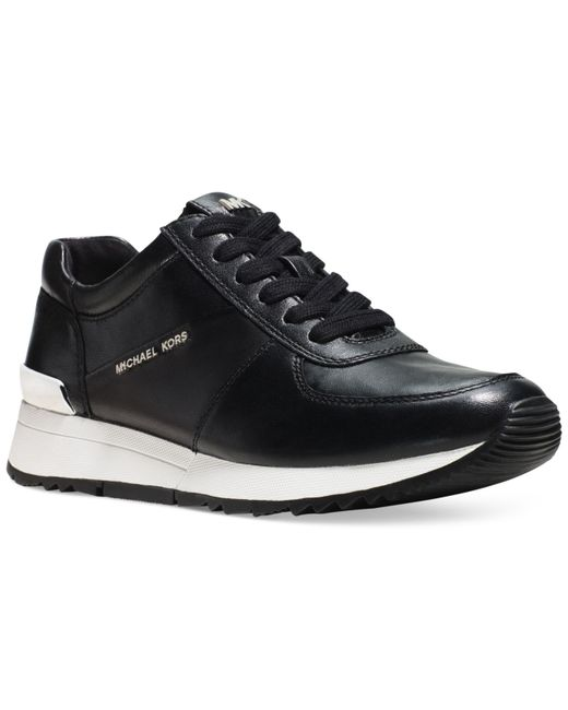 Michael Kors | Black Michael Allie Trainer Sneakers | Lyst