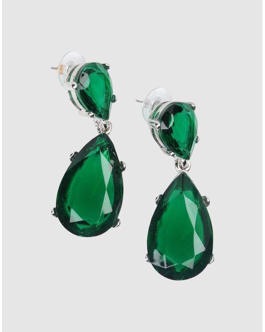 Kenneth Jay Lane   Green Earrings   Lyst