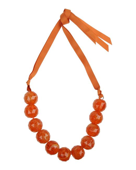 Weekend by Maxmara | Orange Necklace | Lyst