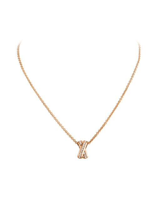 Dyrberg/Kern | Metallic June Metal Necklace | Lyst
