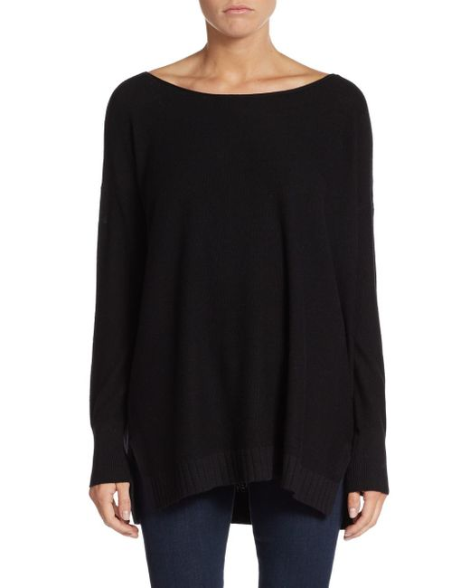 Joie | Black Zephyrine Drop-shoulder Sweater | Lyst