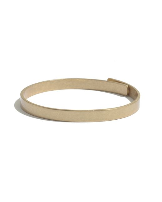 Madewell | Metallic Glider Bangle Bracelet | Lyst