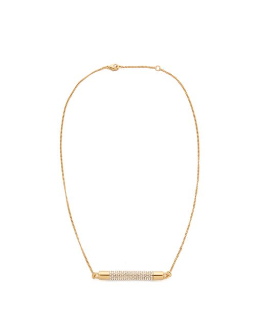 Vita Fede | Metallic Turnable Crystal Pave Necklace | Lyst