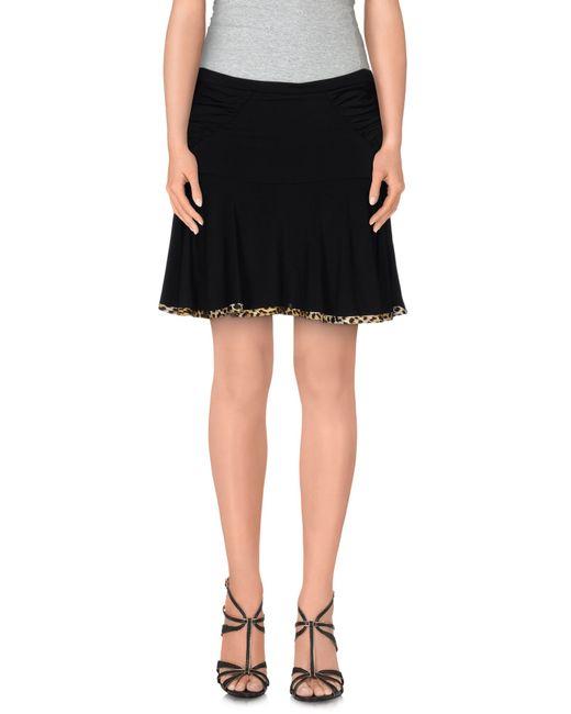 Just Cavalli   Black Mini Skirt   Lyst