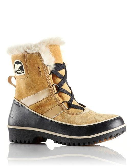 Sorel | Brown Tivoli Ii Snow Boot Tan Suede | Lyst