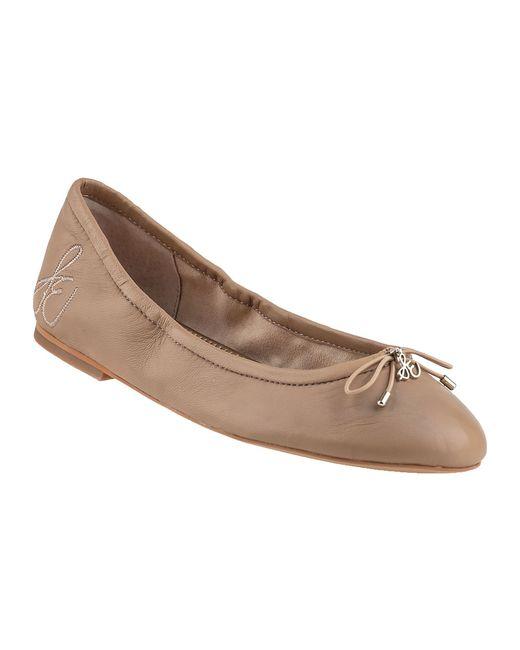 Sam Edelman | Beige Felicia Ballet Flat Nude Leather | Lyst