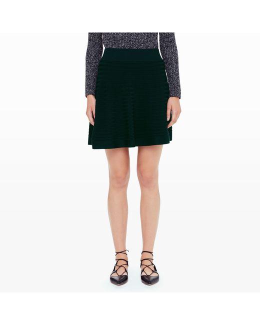 Club Monaco | Green Cheska Sweater Skirt | Lyst