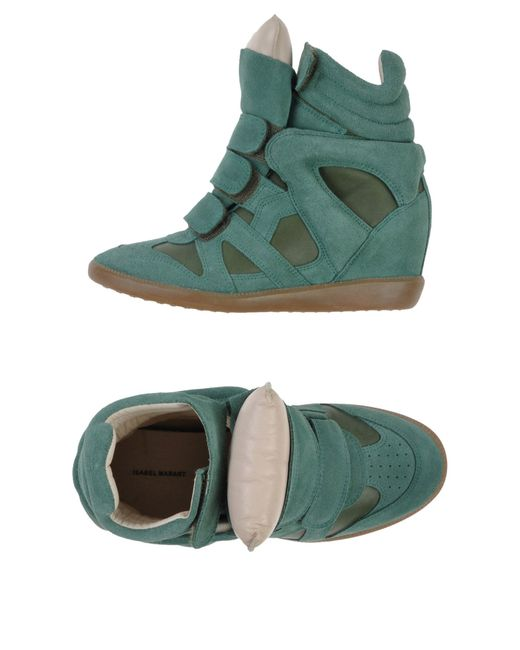 Isabel Marant | Green High-tops & Trainers | Lyst