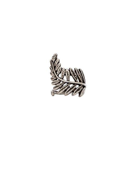 Natalie B. Jewelry | Metallic Floating Fern Ring | Lyst