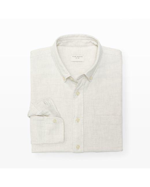 Club Monaco | White Slim-fit Double Face Shirt for Men | Lyst