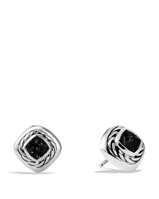 David Yurman | Color Classics Earrings With Black Onyx | Lyst