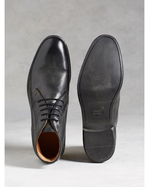 John Varvatos | Gray Dylan Chukka for Men | Lyst