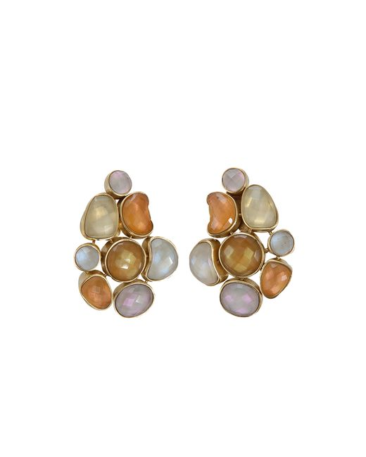 Vaubel | Metallic Station Clip Earrings | Lyst