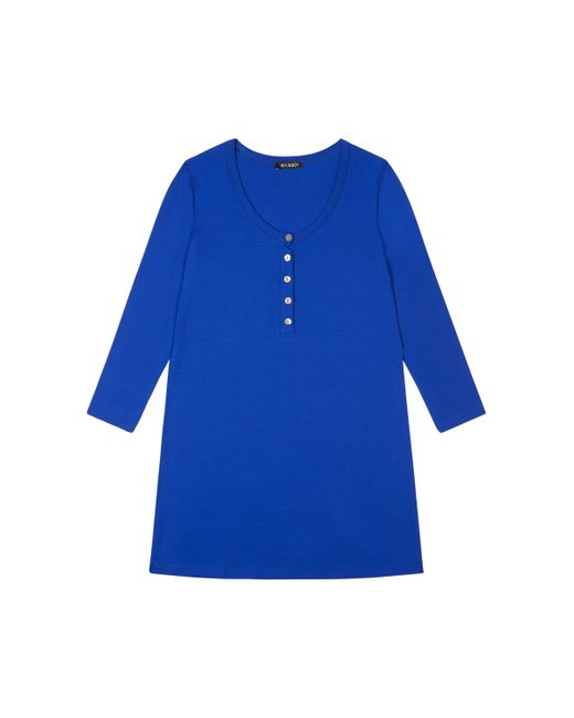 Baukjen | Blue Nora Button Tunic | Lyst