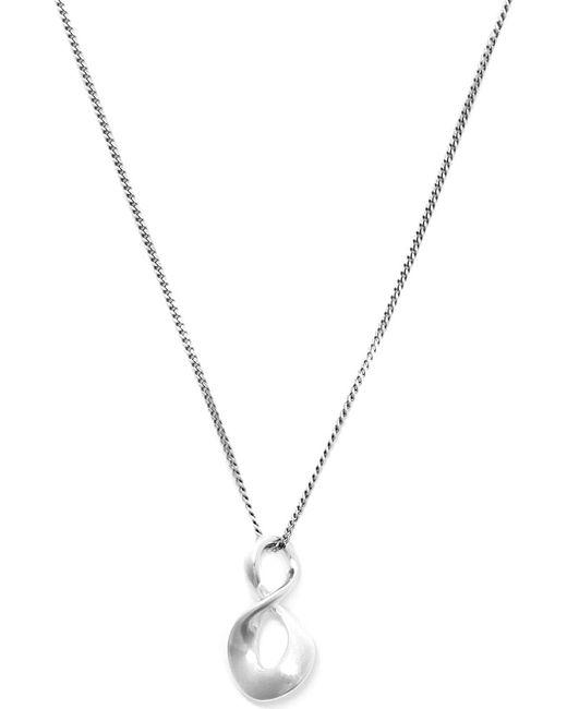 Georg Jensen | Metallic Infinity Sterling Silver Pendant | Lyst
