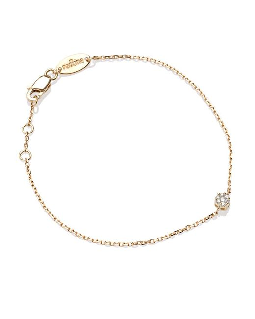 RedLine | Yellow Diamond Illusion Chain Bracelet | Lyst