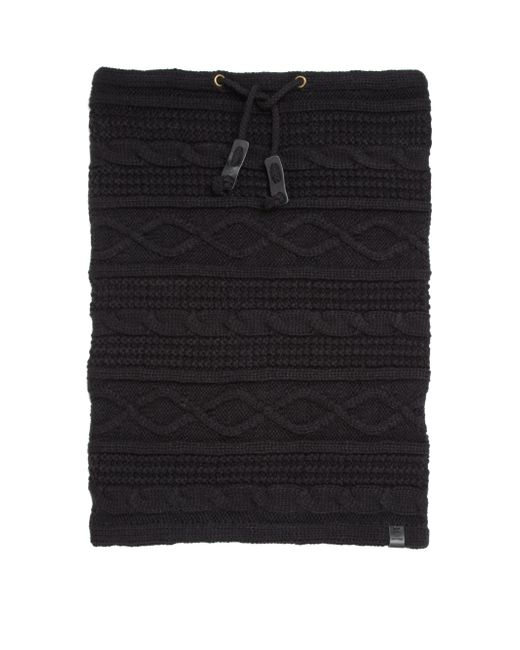 Bickley + Mitchell | Black Cable-knit Snood for Men | Lyst