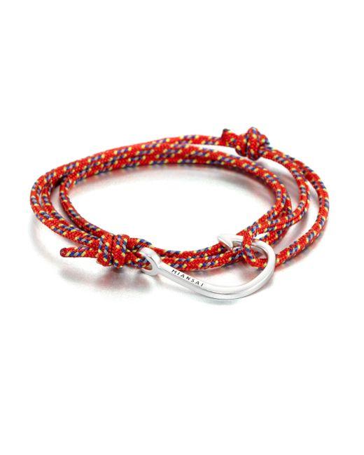 Miansai   Red Hook Rope Bracelet   Lyst