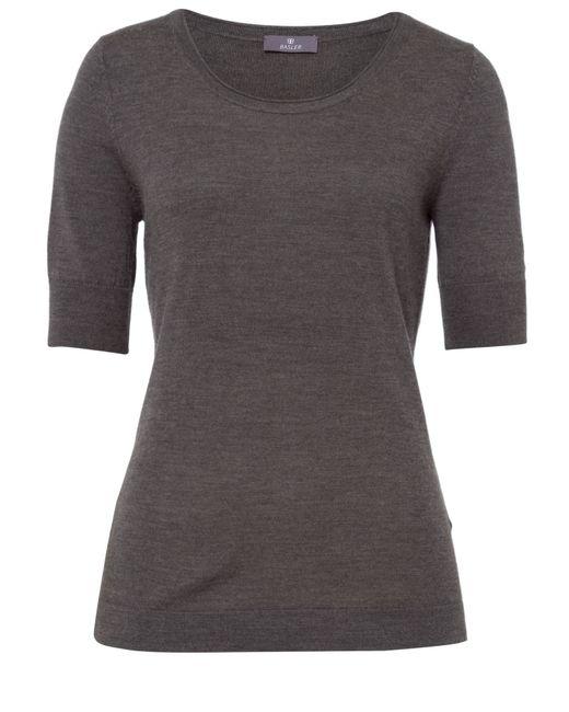 Basler   Gray Fine Knit T-shirt   Lyst