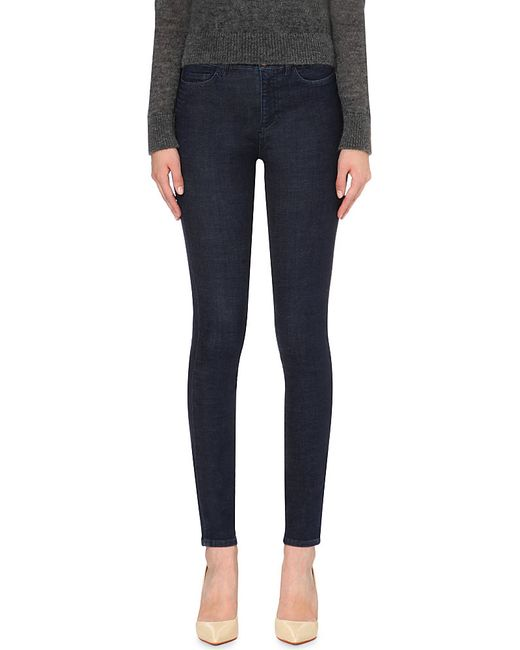 M.i.h Jeans | Blue The Bodycon Skinny High-rise Jeans | Lyst