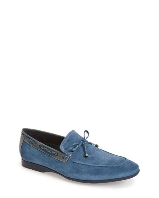 Mezlan   Blue 'campin' Loafer for Men   Lyst