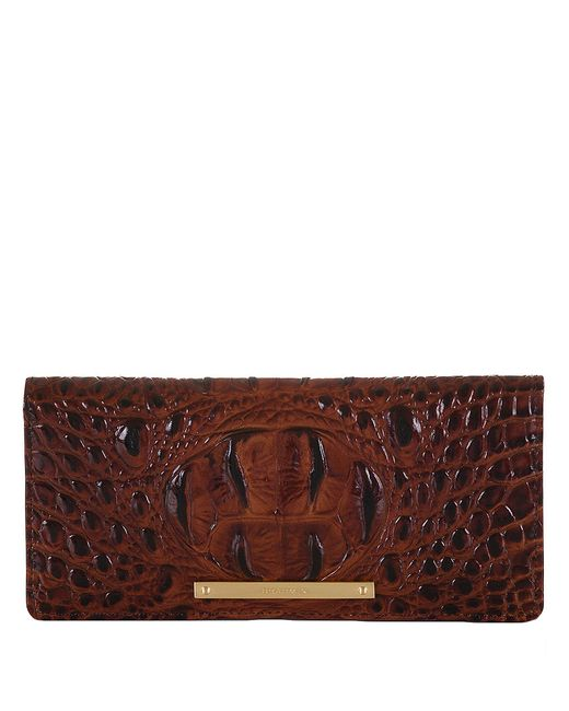 Brahmin | Brown Melbourne Jillian Wallet | Lyst