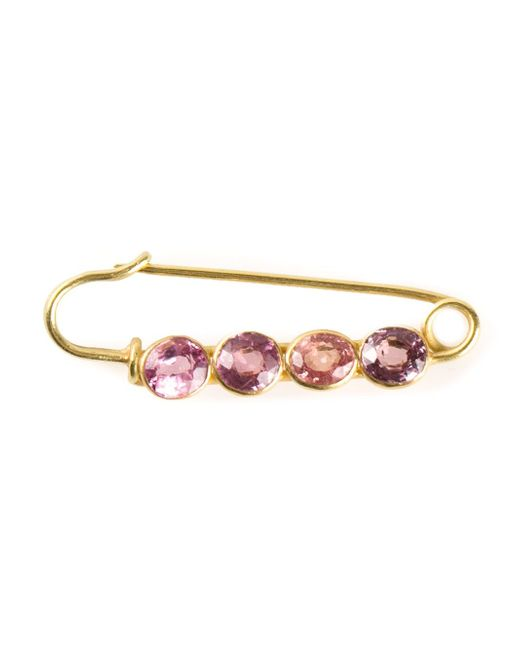 Marie-hélène De Taillac | Metallic Spinel Safety Pin | Lyst