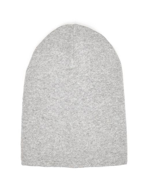 River Island | Gray Grey Slouchy Beanie Hat | Lyst