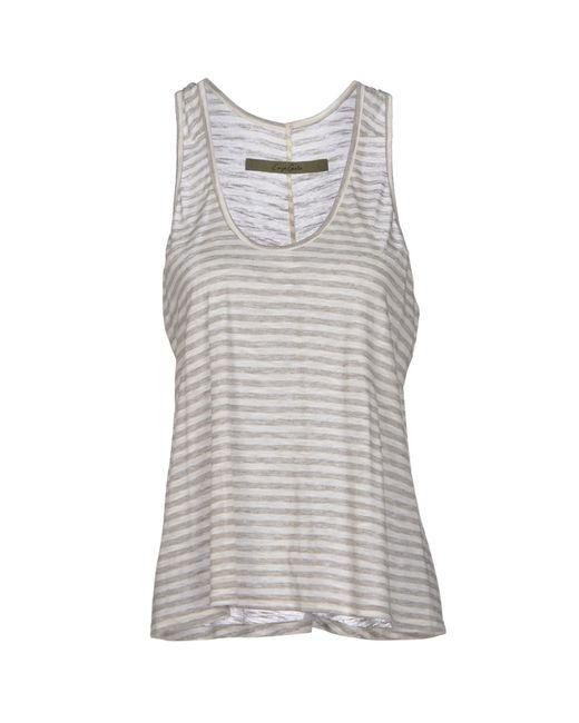 Enza Costa | Gray T-shirt | Lyst