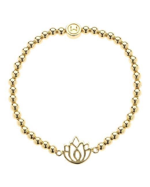 Melissa Odabash | Metallic Lotus Stretch Bracelet | Lyst