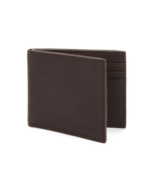 Jack Spade | Brown Barrow Leather Slim Billfold Wallet for Men | Lyst