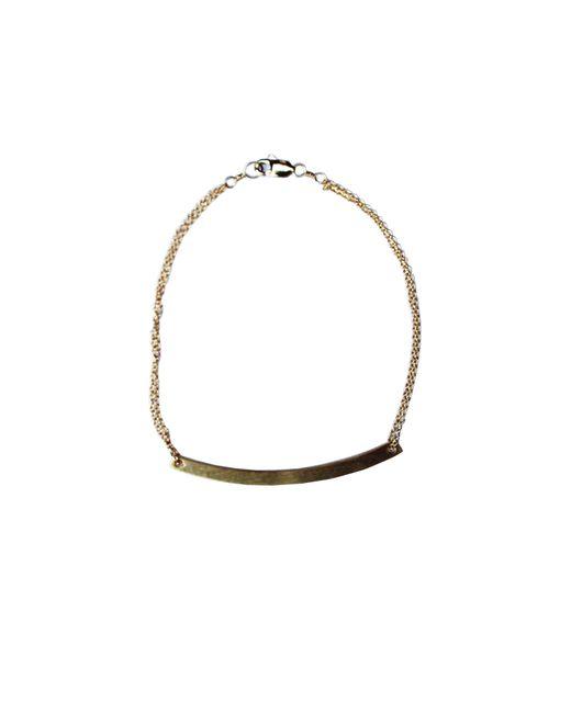 Adina Reyter   Metallic Small Arc Bracelet   Lyst