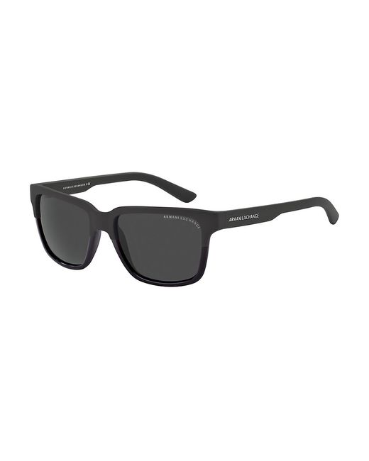 Armani Exchange | Black Wayfarer Sunglasses for Men | Lyst