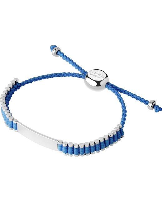 Links of London | Blue Friendship Bracelet | Lyst