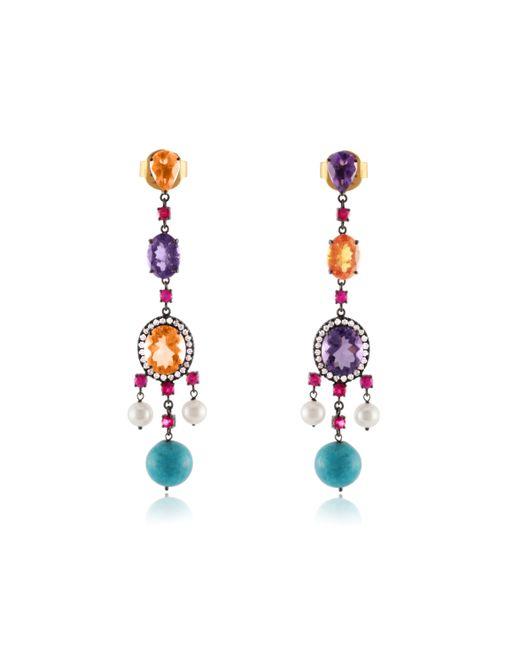 Holly Dyment   Metallic Empress Earrings   Lyst