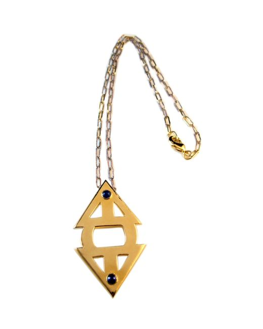 Jill Golden | Metallic Meridian Necklace | Lyst
