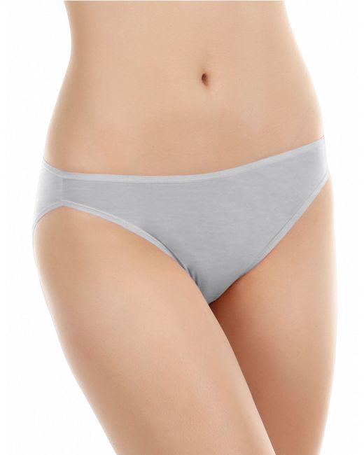 Felina | Gray Sublime High Cut Brief Panty | Lyst