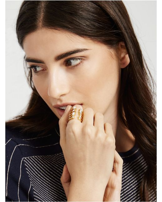 BaubleBar | Metallic Goldrush Ring | Lyst