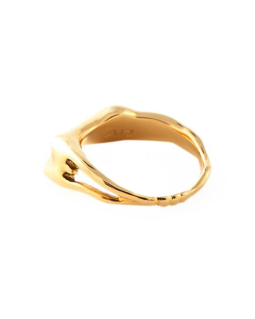 Aurelie Bidermann | Metallic 'body' Ring | Lyst